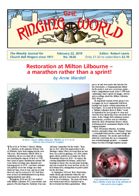 The Ringing World issue 5626