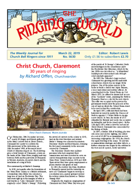 The Ringing World issue 5630