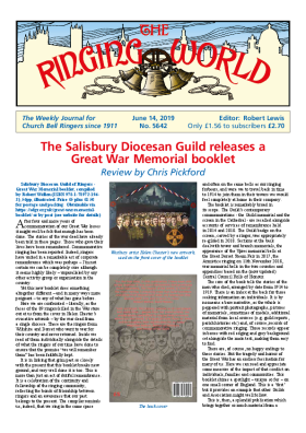The Ringing World issue 5642