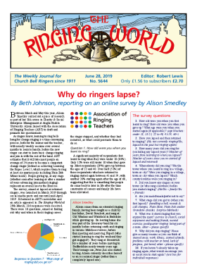 The Ringing World issue 5644