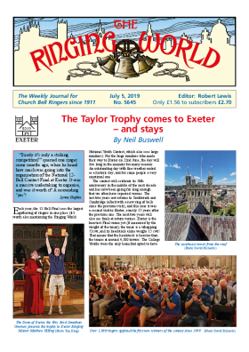 The Ringing World issue 5645
