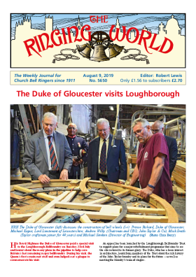 The Ringing World issue 5650