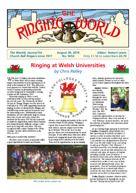 The Ringing World issue 5653