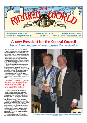 The Ringing World issue 5655