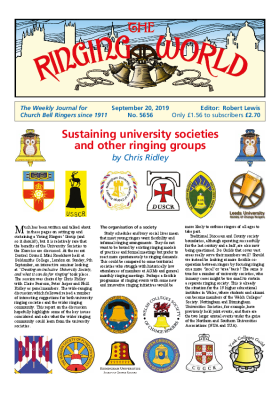 The Ringing World issue 5656