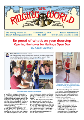 The Ringing World issue 5657