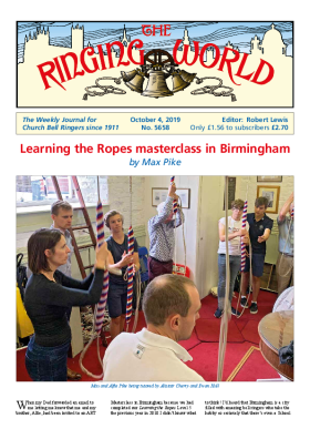 The Ringing World issue 5658