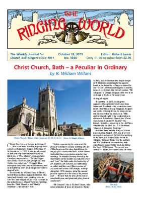 The Ringing World issue 5660