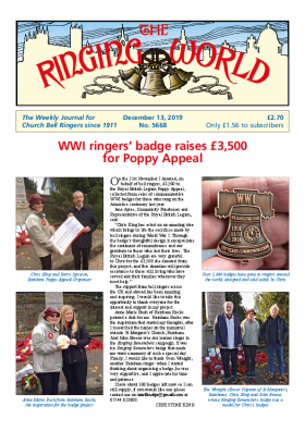 The Ringing World issue 5668