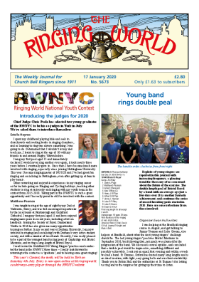 The Ringing World issue 5673