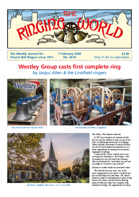 The Ringing World issue 5676
