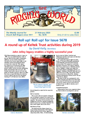 The Ringing World issue 5678
