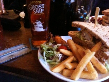 Lunch @ The Cross Keys