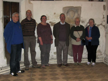 Andrew Downs, Tom Ridgman (C), Vanessa Webster, Richard Hough, Janet Garnet and Jane Hough