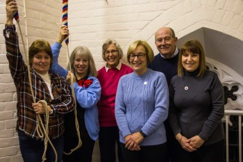 l to r: Sue Geens, Di Awkati, Rosemary Lawley, Stella Smith, John Lawley, Judy Mountain.
