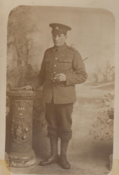 Private Ernest Thomas Needle, Royal Marine Light Infantry