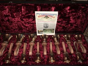 Alfred Grimes' handbells.