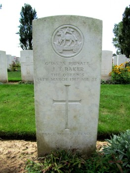 Photograph courtesy of britishwargraves.co.uk