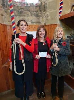 Gill, Mary and Cathryn. Ringing Remembers recruits