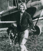 Amy Johnson from Hull. She achieved amazing things before dying on active service in WW2, probably as the result of friendly fire over the River Thames.