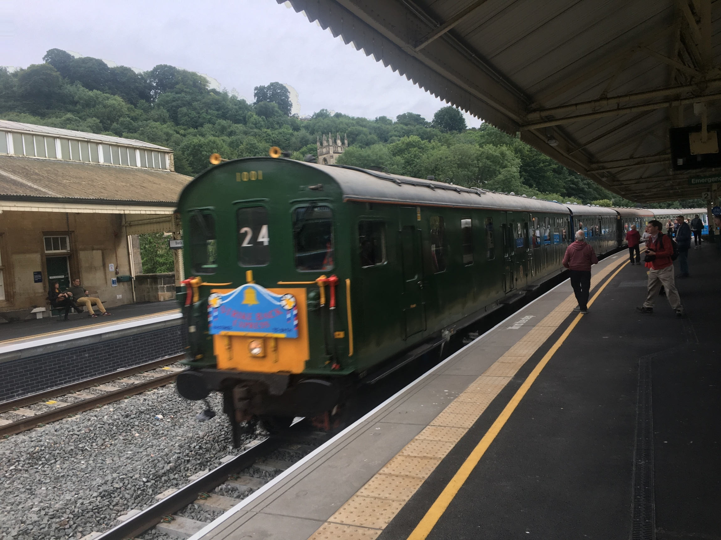 The Strike Back Express at Bath
