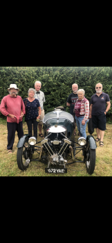Rang for The 110th Anniversary of The Morgan Car Company at the family Church of Stoke Lacy. All ringers in this Quarter Peal  were, or are, Morgan owners or enthusiasts.
