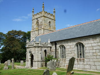 Wendron,typical Cornish church and tower.