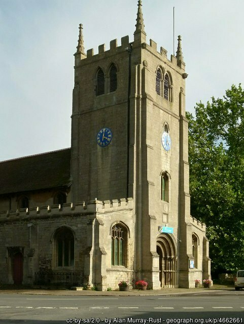 St. Thomas a Becket church, Ramsey, Cambs.