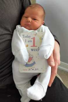 Congratulations to Sophie & Tom White on the birth of Francis Alexander, 13th February, 7lb 15oz. a grandson for Pippa.