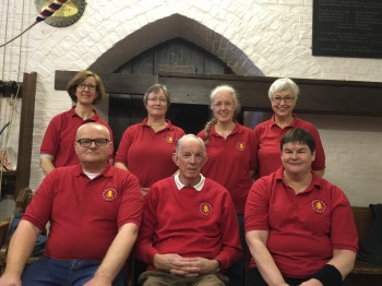 Proudly remembering  in our tower polo shirts.