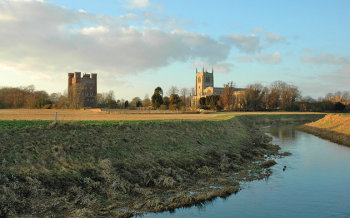 Tattershall Castle & Church.