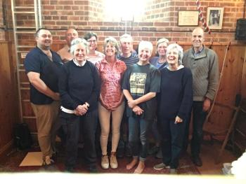 Ringers who joined Patricia Murray Cox for a day out to celebrate Toby's short and fun filled life.