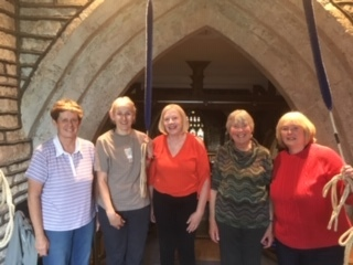 Ringers from the SNDG Ladies Group