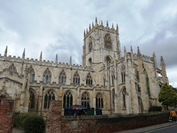 St Mary's, Beverley where the LDG Eastern Branch rang so very well on the outing on Saturday.