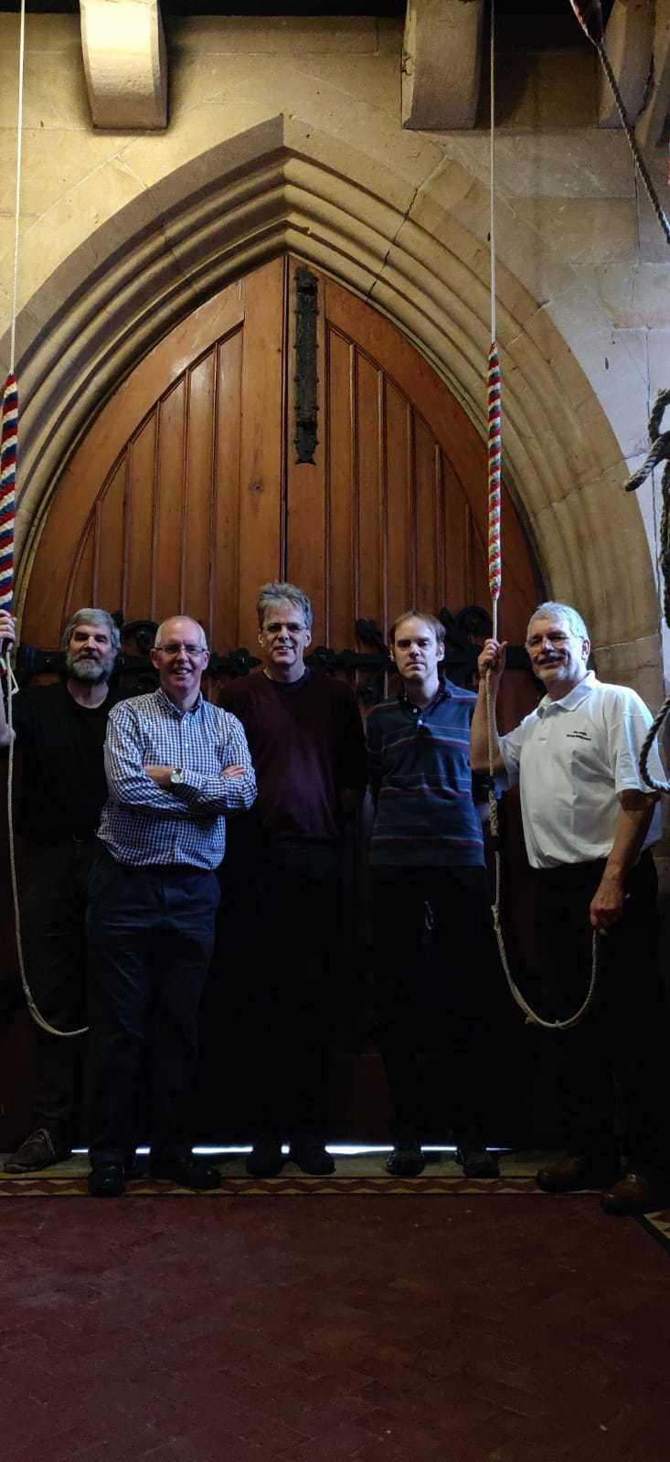 Ringers 1-5 (right to left)