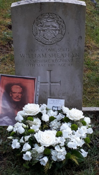 William's grave at St Michaels, Camberley