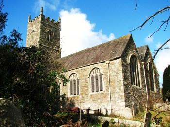 St Clement church, Cornwall.