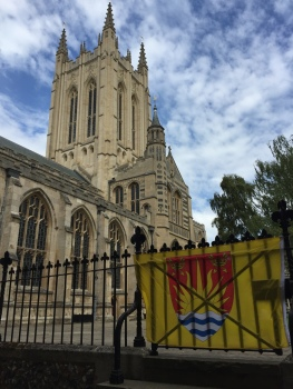 St Edmundsbury Cathedral on Suffolk Day