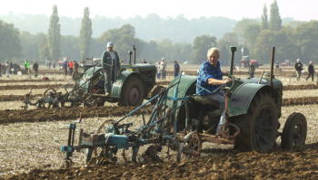 Vintage Tractors Ploughing