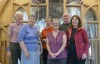 L-R: Phillip, Sheila G, Elinor, Sue, David, Sheila P