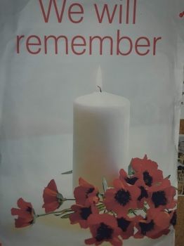 'We Will remember them'